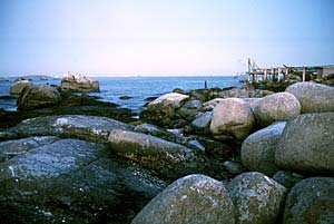 Rocks and Jetty